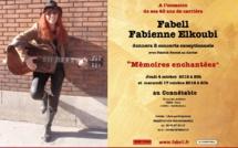 Plus que quelques jours pour réserver! Les 4 et 17 octobre 2018, 2 concerts exceptionnels de Fabell / Fabienne Elkoubi pour ses 40 ans de carrière!