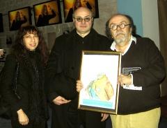 Avec Pierre Martial et Jean-Michel Ribes au Théâtre du Rond Point