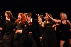 Avec la troupe de la Comédie musicale les Misérables au Comédia